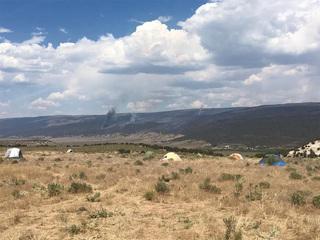 Firefighters making progress on Peekaboo Fire