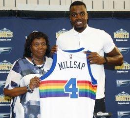 Paul Millsap returns to Denver as a Nugget