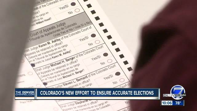 Colorado first state to use algorithm software to safeguard election