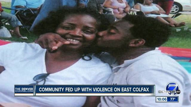 Mother shares familiar story of son-s murder on East Colfax