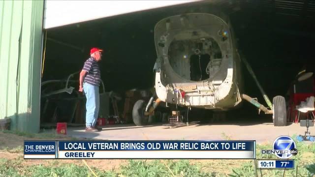 Colorado Vietnam veteran brings war relic back to life