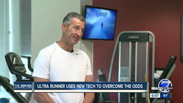 Finish line in sight for Leadville 100 runner thanks to new therapeutic tool