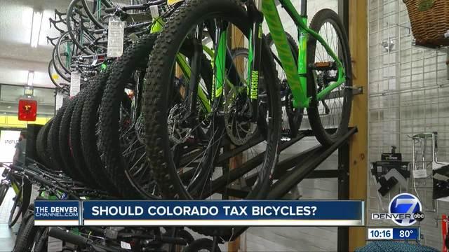 No more -free rides-- Colorado lawmaker proposes bicycle tax