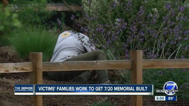 Family of victims in Aurora Theater shooting work to get 7-20 Memorial built