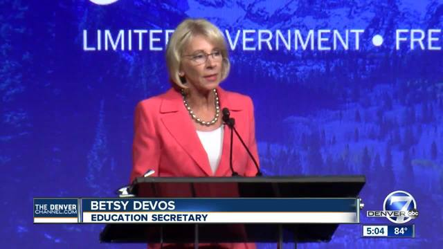 20 attorneys general urge DeVos to keep college sexual assault protections
