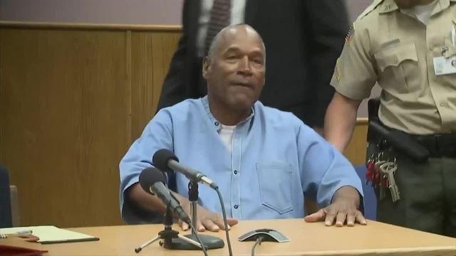 OJ Simpson granted parole in Nevada