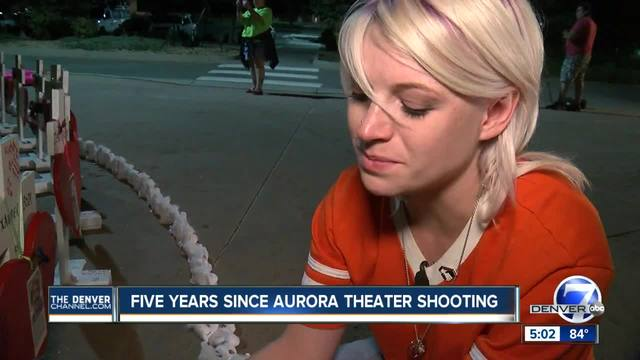 -We are stronger-- Aurora honors victims of theater shooting 5 years later