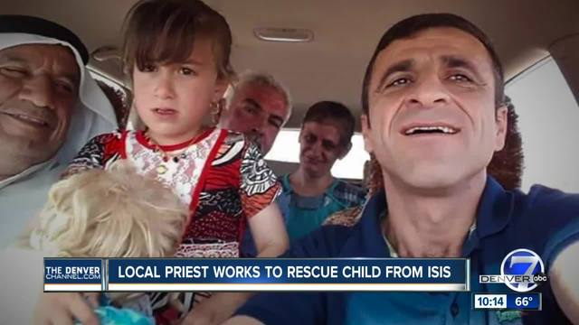 Lakewood priest helps in rescue of Iraqi girl kidnapped by ISIS
