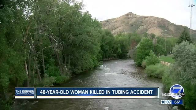 Woman pulled from Clear Creek in Golden after tubing incident dies- police say