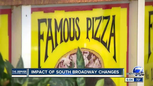 Impact of South Broadway changes