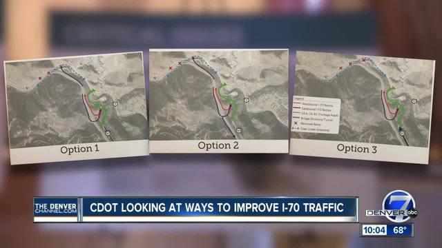 CDOT looking at ways to improve I-70 traffic