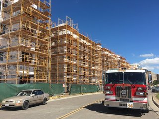 2 workers fall 40 feet from Lone Tree site