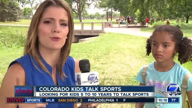 Colorado Kids Talk Sports- Broncos Edition