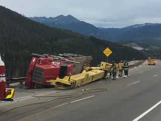 WB I-70 reopens at Eisenhower Tunnel after crash