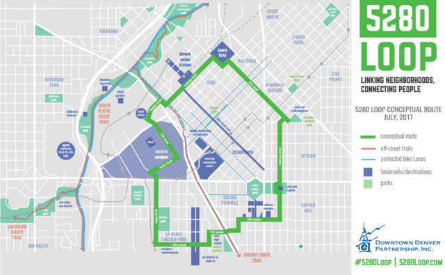5280 Loop: A new way to connect Downtown Denver neighborhoods on