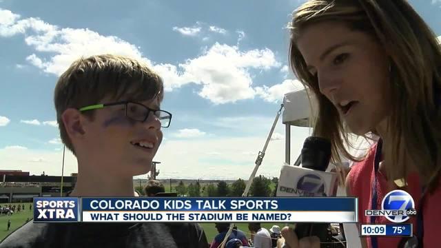 Colorado Kids Talk Sports- New Stadium Name