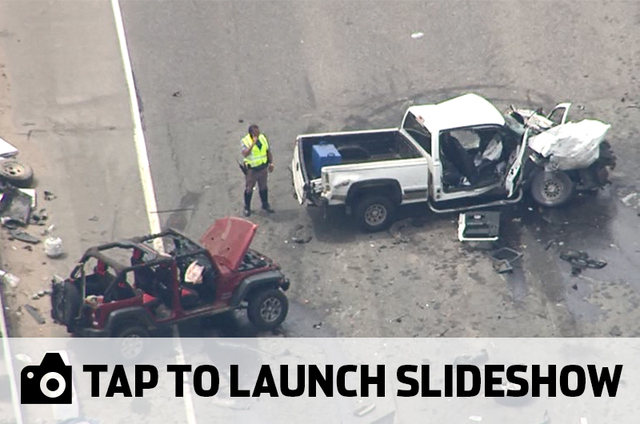 See photos of the deadly crash on EB I-70 at Morrison Road