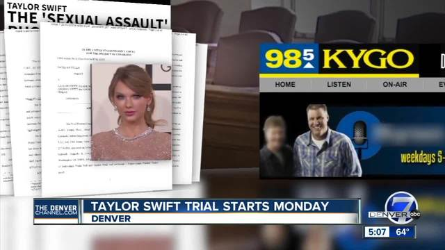 Taylor Swift to appear in court