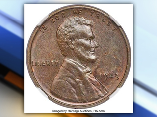 Rare penny sells for $282,000 at auction