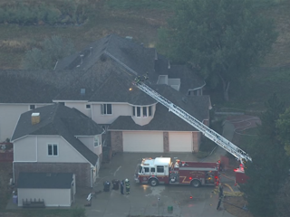 Lightning starts attic fire in Broomfield