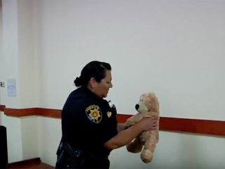 Teddy bear separated from its owner in DougCo