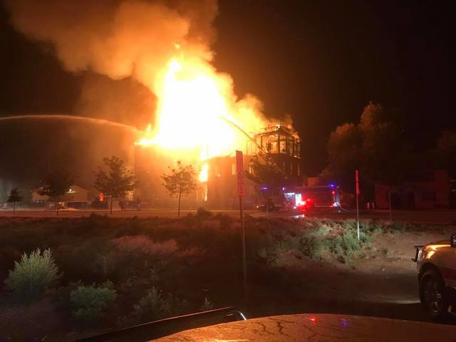 Historic Windsor Mill goes up in flames overnight