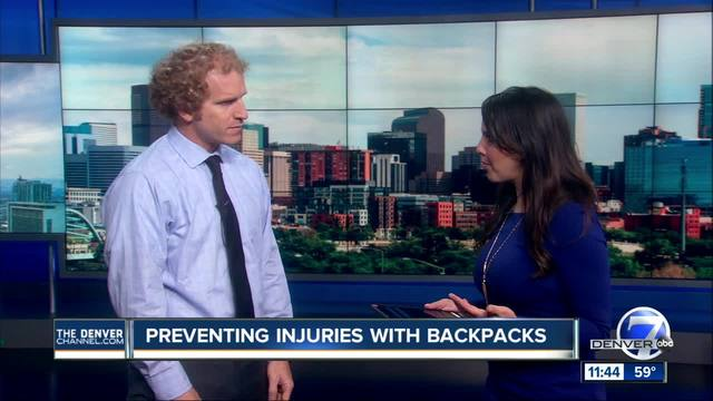 Preventing Injuries with Backpacks