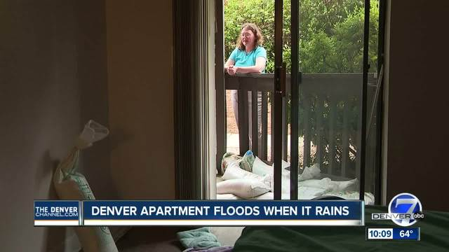 Woman says apartment complex rented her moldy unit prone to flooding
