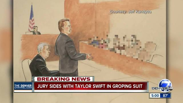 Taylor Swift wins- Jury in groping case finds for pop star