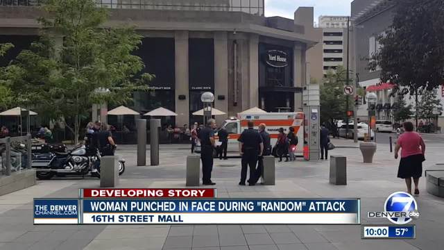 2 attacked on 16th Street Mall in downtown Denver