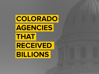 These 7 CO agencies received the most money
