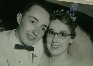 Couple rediscovers decades-old love letters