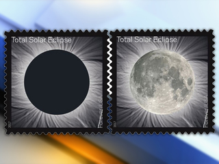 Company makes ink for solar eclipse stamp