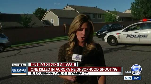 Man shot to death in broad daylight in Aurora neighborhood- suspect at large
