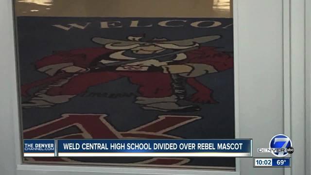 Weld County School examines -Rebel- Confederate mascot