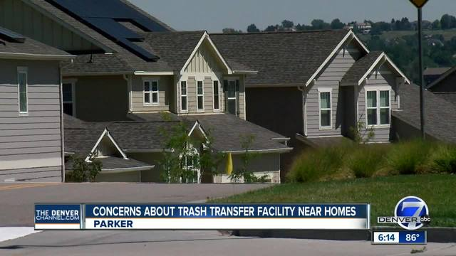 Parker neighborhood rallies against proposed trash facility for Douglas County
