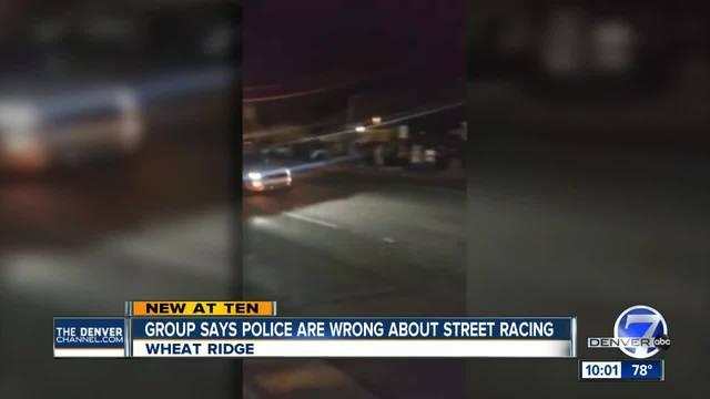 Wheat Ridge Police break up street race event