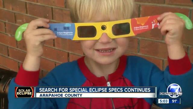 Search for solar eclipse specs heads to Arapahoe County libraries