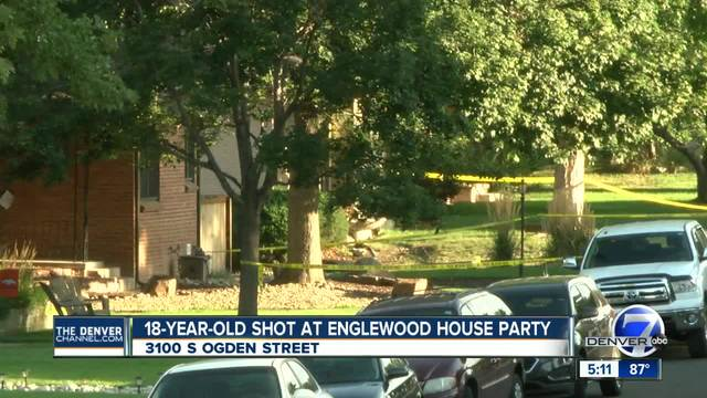 Woman shot during house party in Englewood