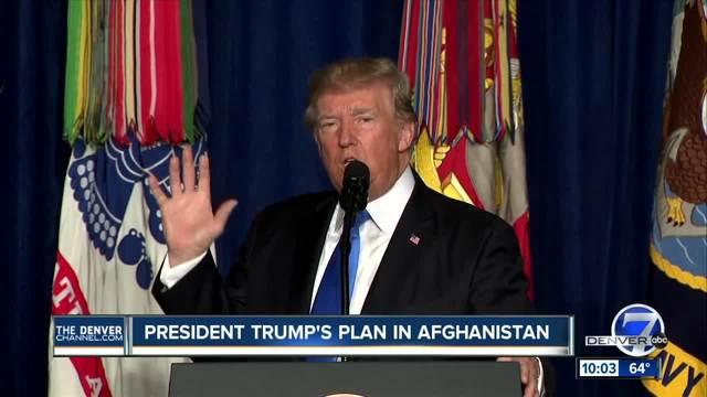 Trump renews Afghan war commitment- sees no speedy exit