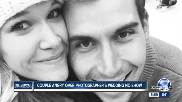 Couple angry over photographer-s wedding no-show