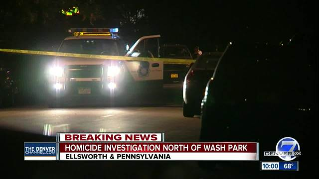 Denver Police seek suspect in homicide near Wash Park neighborhood