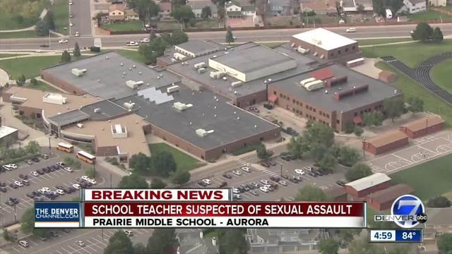 Police- Prairie Middle School teacher is sexual assault suspect-…