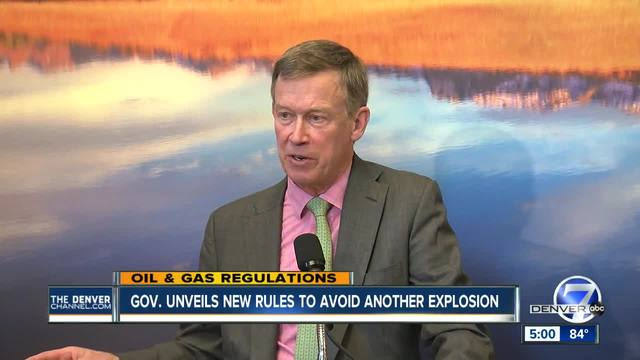 Colorado rolling out 7-pronged attack to improve oil and gas safety