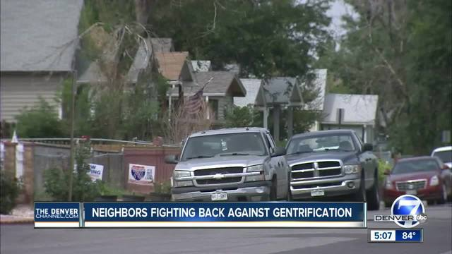 Northeast Denver neighborhood fighting back against redevelopment