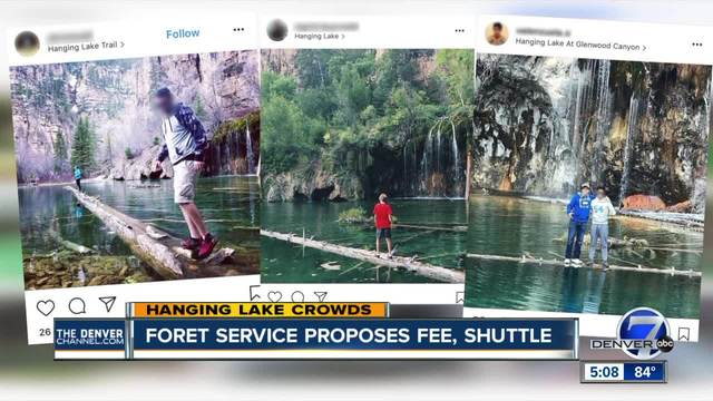 Forest Service proposes limiting Hanging Lake visitors to 615 per day