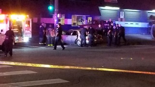 Carjacking suspect in custody after crash