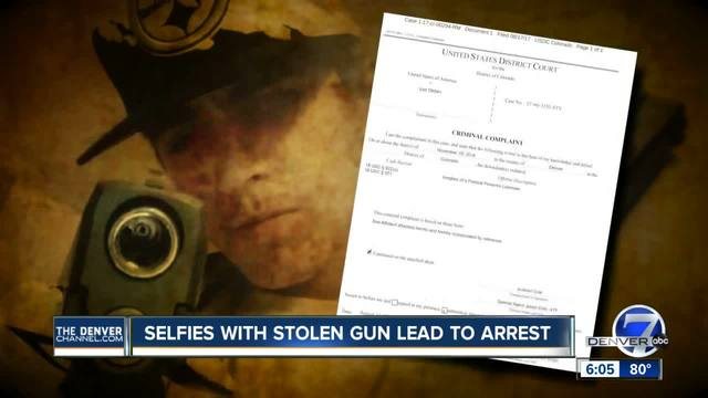 Selfies with stolen guns lead to arrest of gun store smash-and-grab suspect