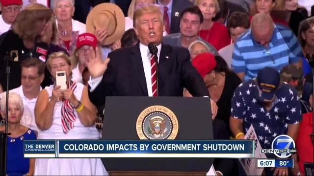 Government shutdown could impact Colorado