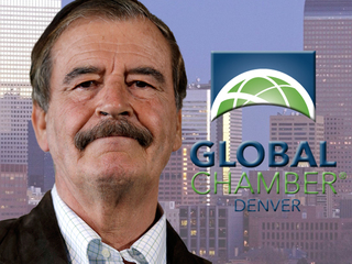 Denver hosts former President of Mexico